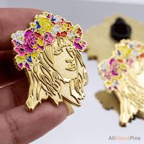 Flowergirl - Glitter -Gold2