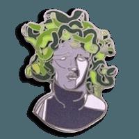 All About Cloisonne Pins Medusa