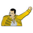 All About Pins Soft Enamel Pin 49 Freddie Mercury